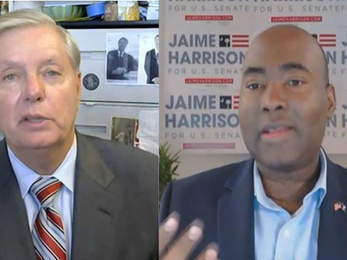 VIDEO: Graham, Harrison face off in final Senate debate just days before election