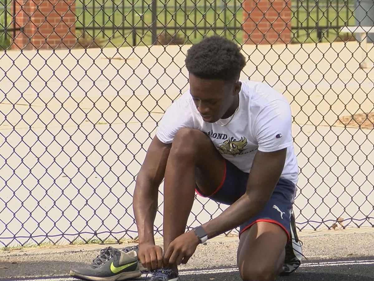 Near accident at grandma's house leads Lower Richland's Graves to greatness on track