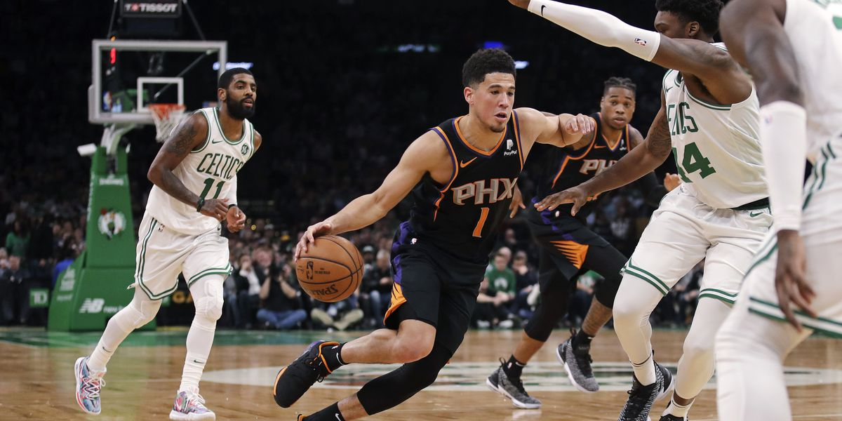 Booker, Ayton carry Suns past Celtics for 4th straight win