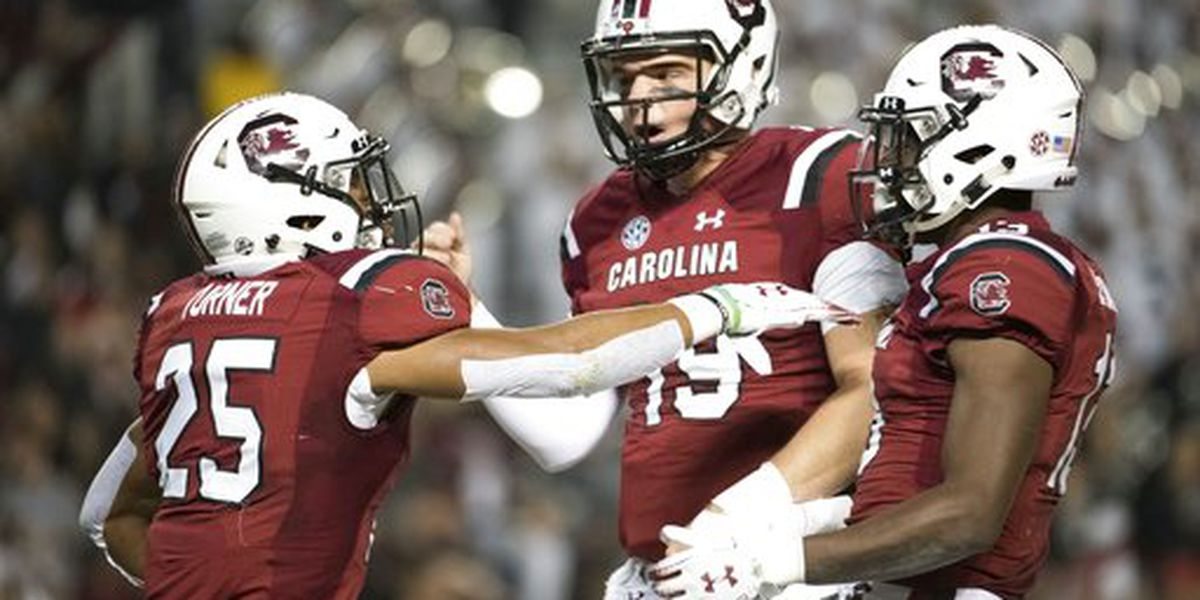Gamecocks rout Chattanooga 49-9 on Senior Night