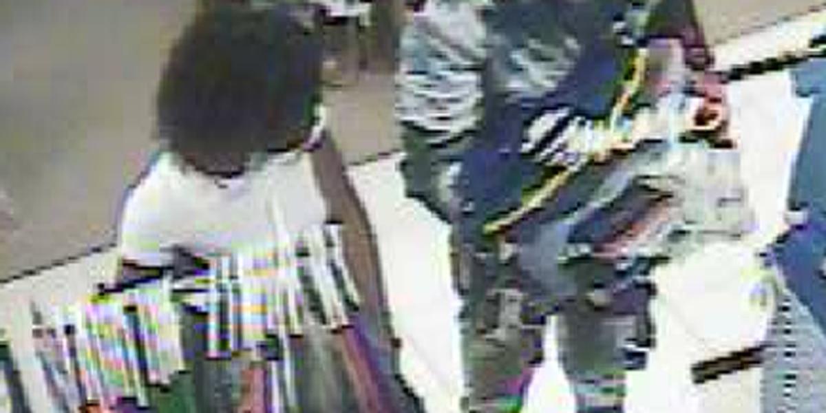 Deputies seek identification of couple wanted for shoplifting