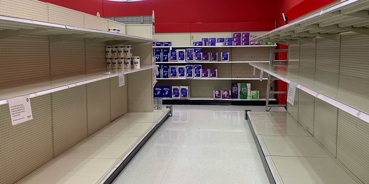 Stores put limit on paper product purchases to prevent panic buying