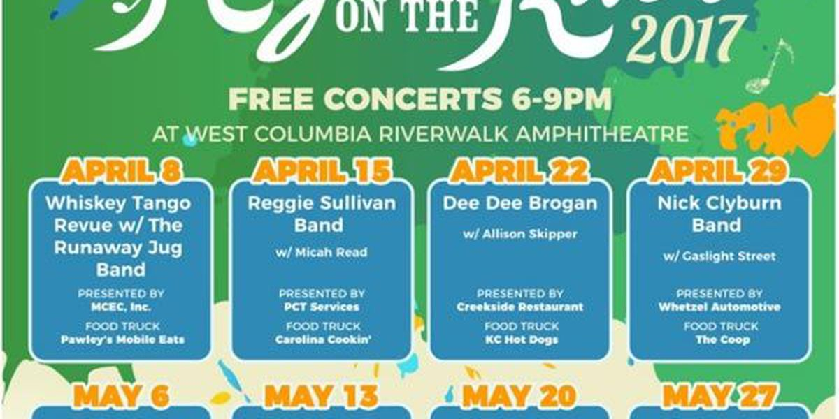 Want to go to a free concert on the river? Here's your chance!