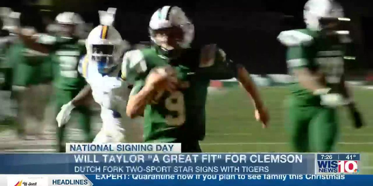 Dutch Fork's Will Taylor 'a great fit' for Clemson