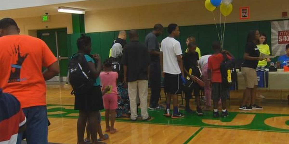 The Ray Tanner Foundation, Junior League of Columbia host 'Slam Dunk Back to School Bash'