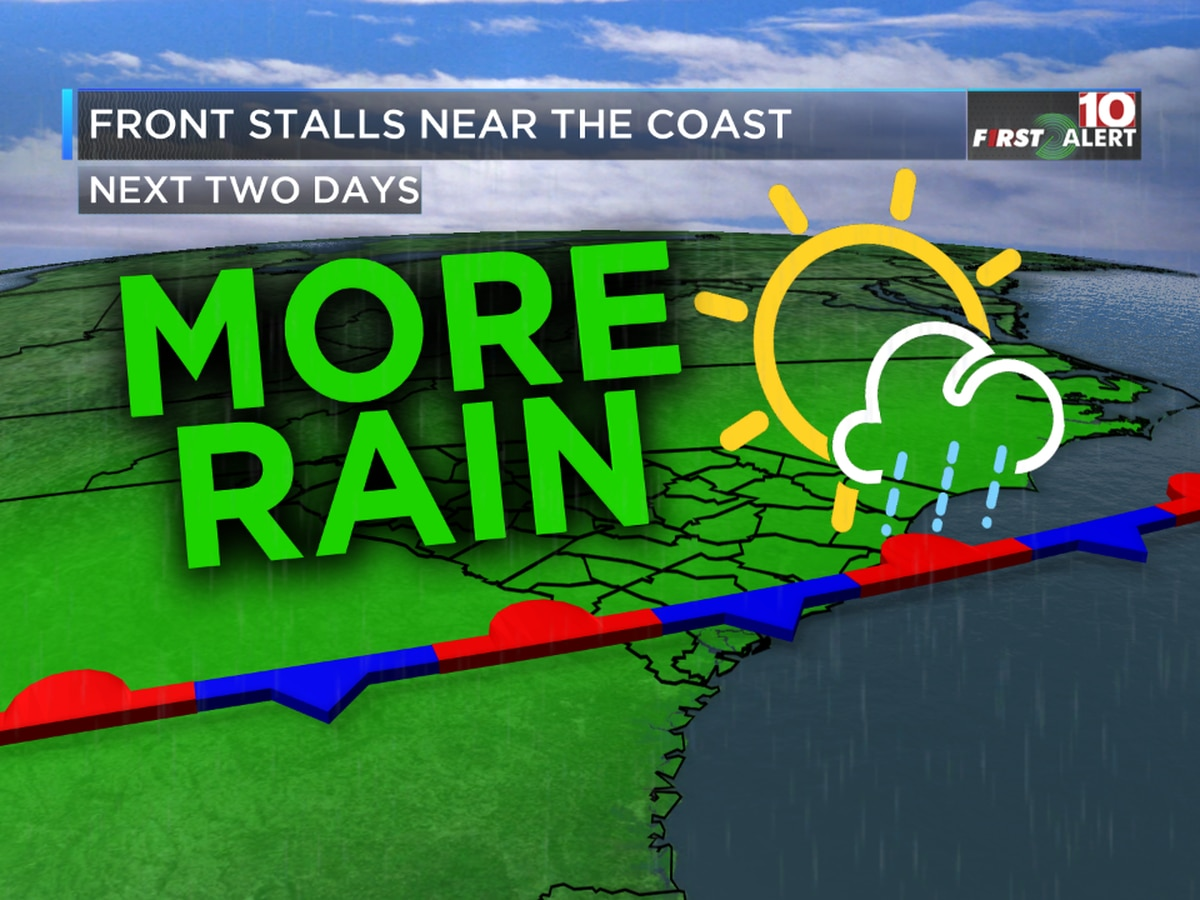 First Alert Forecast: More rain ahead, along with much cooler temperatures