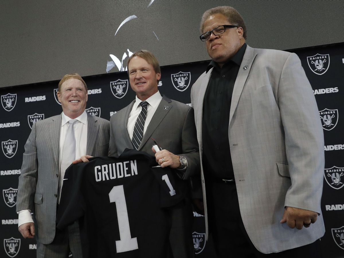Raiders fire GM Reggie McKenzie