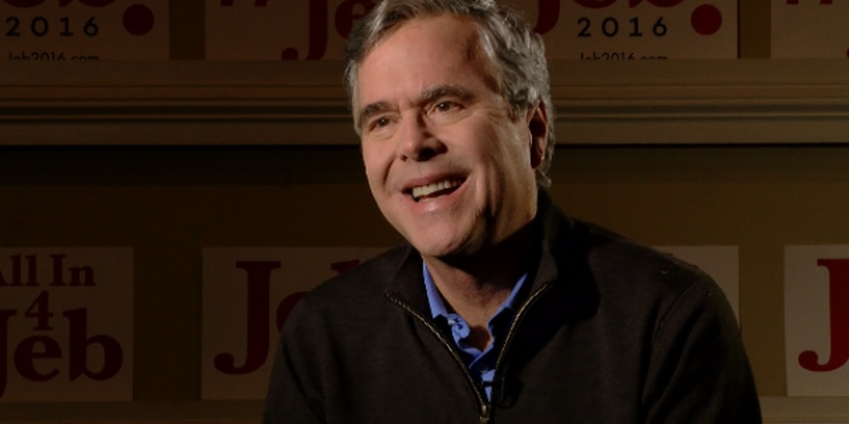 One-on-one with GOP presidential candidate Jeb Bush