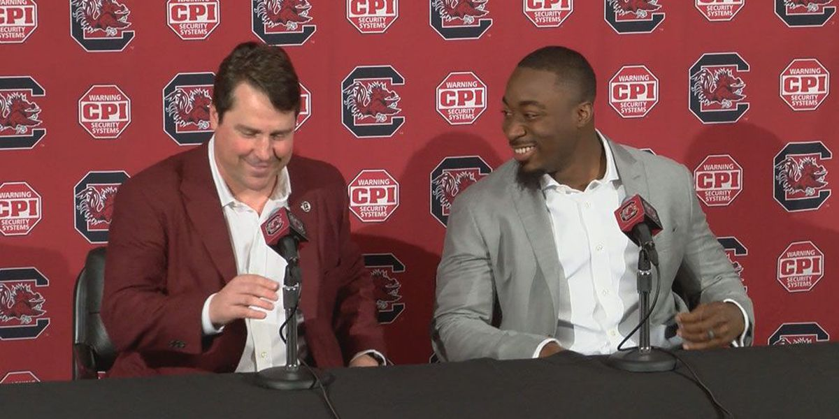 WELCOME BACK: Marcus Lattimore joins USC football staff