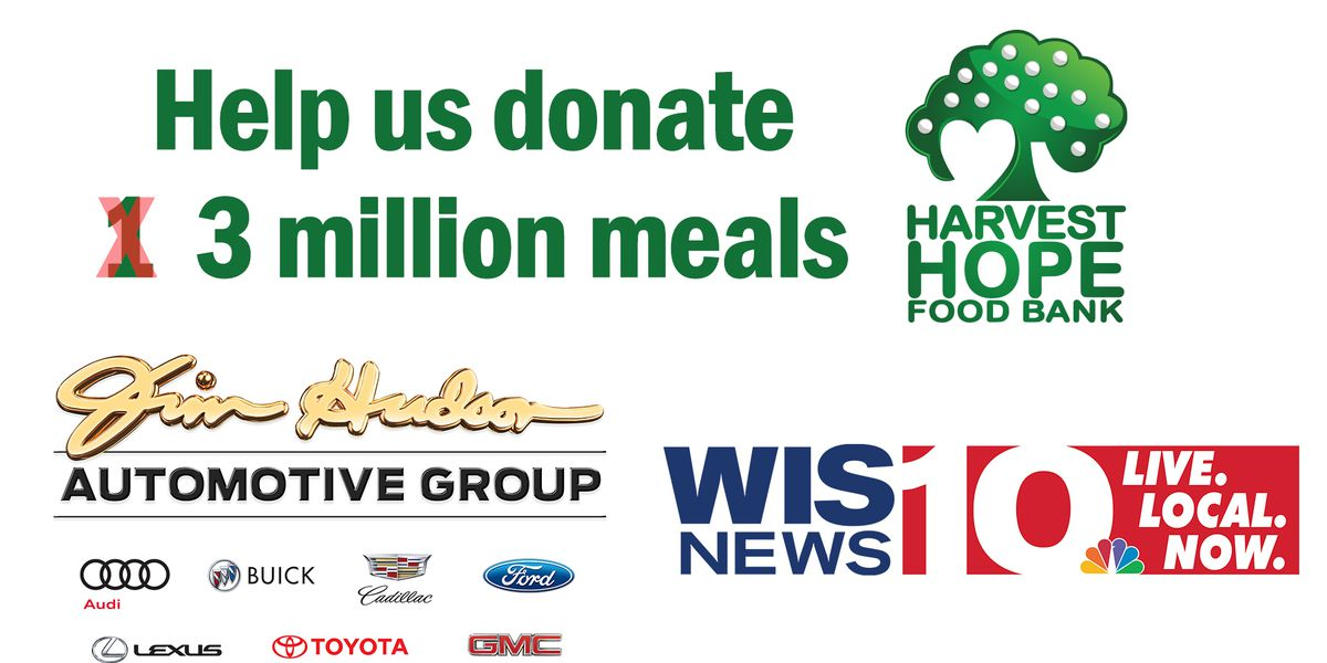 Harvest Hope Virtual Food Drive: Help us donate 3 million meals to families in need