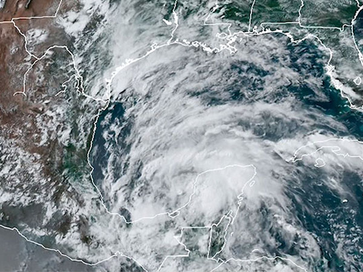 Tropical Storm Cristobal makes landfall on Mexico Gulf coast