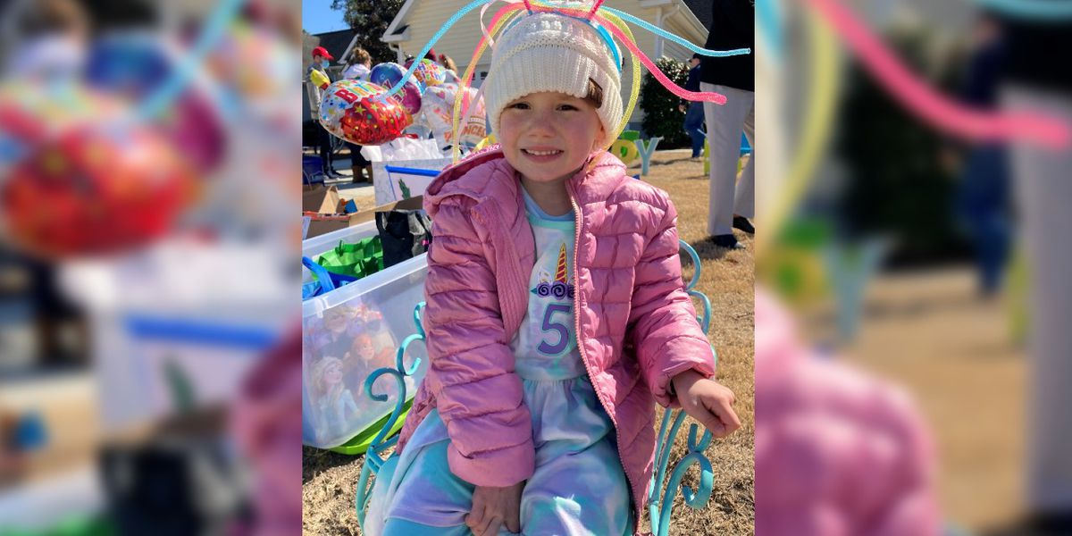 Young cancer patient celebrates birthday with fundraiser for other kids