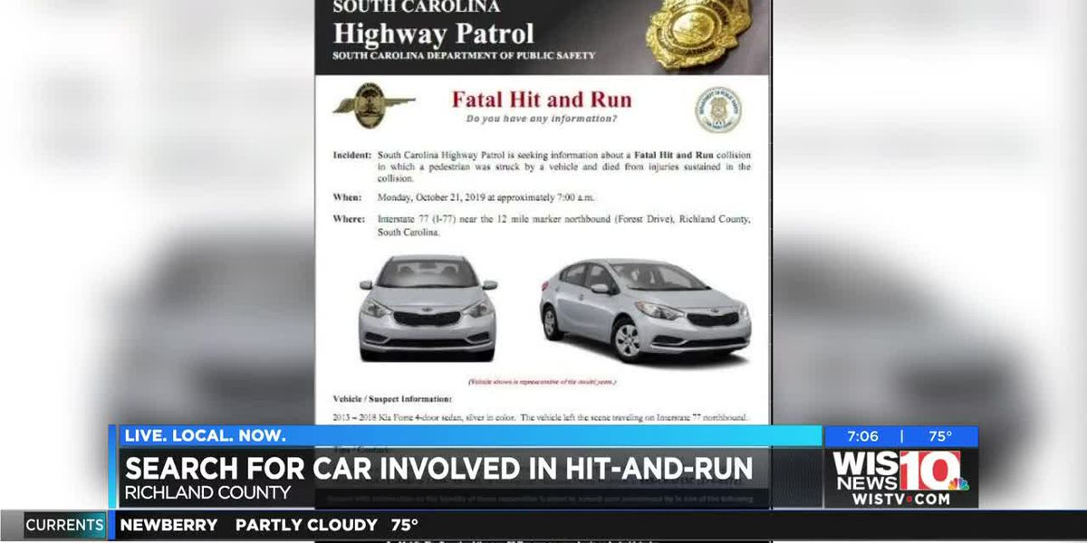 Highway Patrol searching for vehicle involved in fatal hit-and-run on I-77