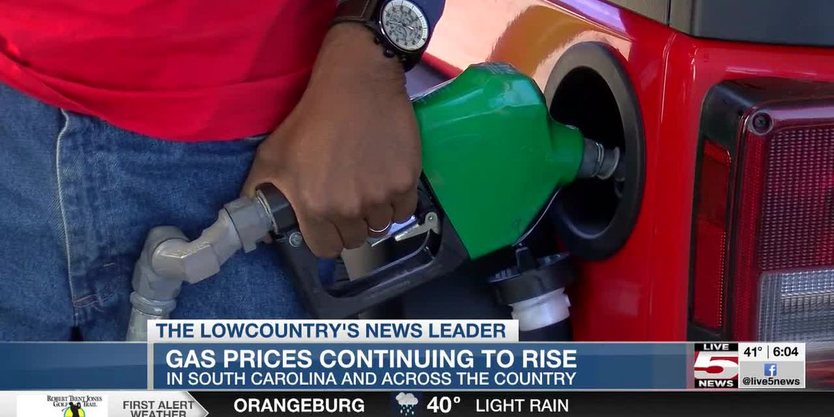 VIDEO: Gas prices continue to rise in SC, across nation