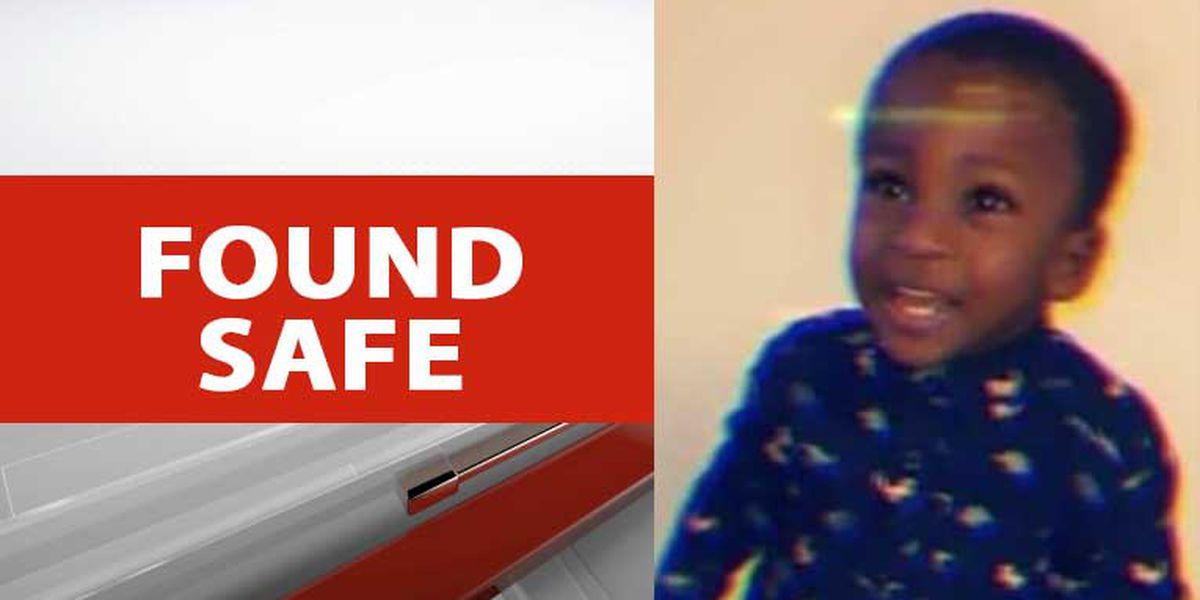 Missing Upstate toddler found safe, police say