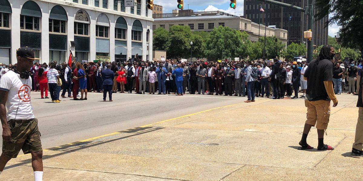 Thousands attend 'Million Man March' in downtown Columbia