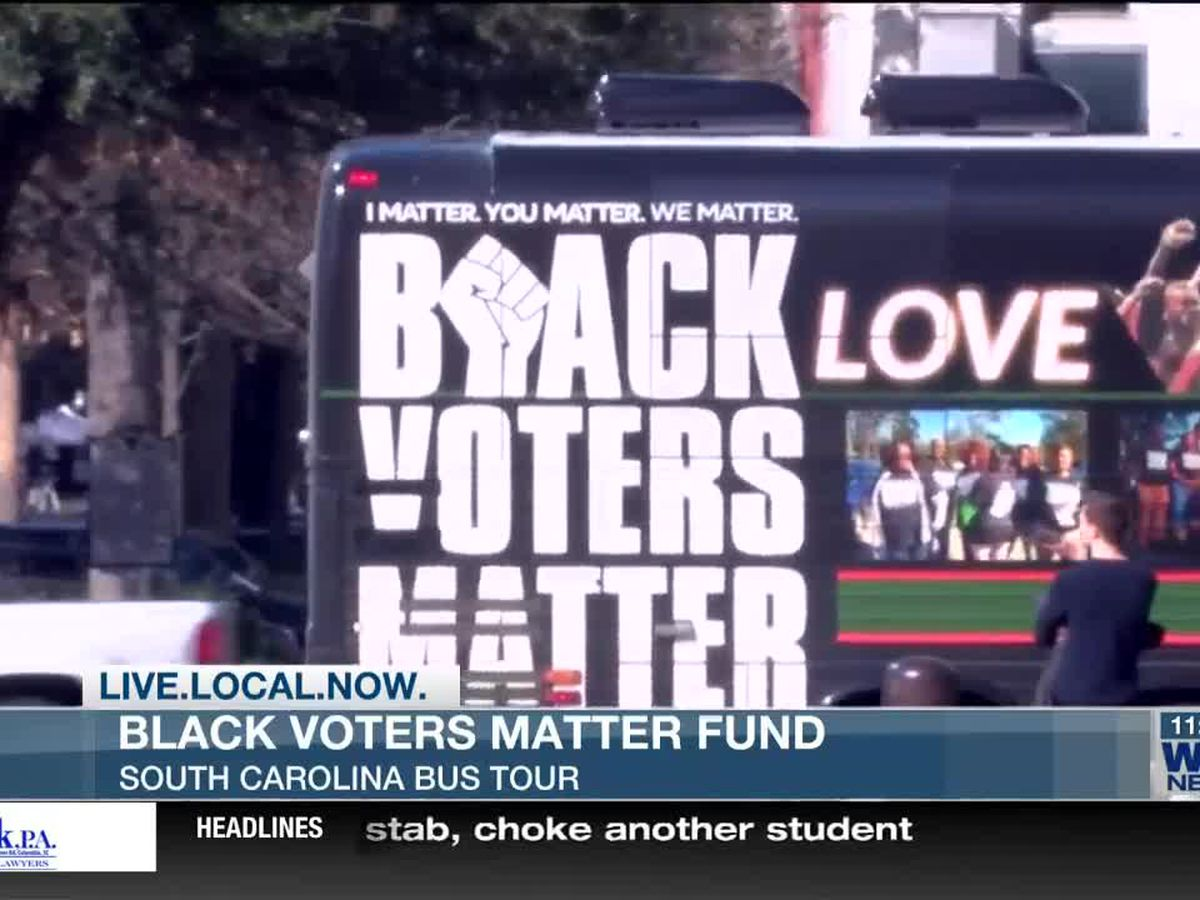 Black Voters Matter Fund on three-day bus tour in SC