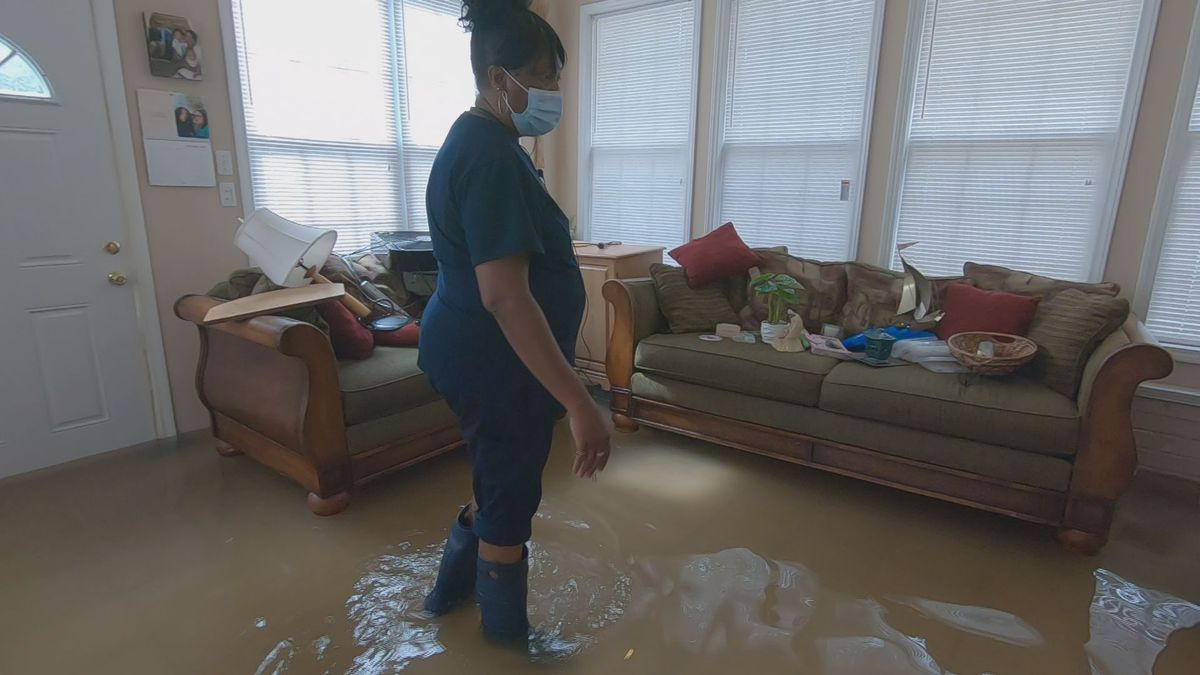Sumter Co. residents face flood damage to homes after Thursday's storms