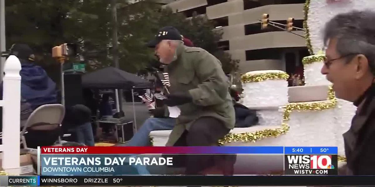 WATCH: Annual City of Columbia Veterans Day Parade