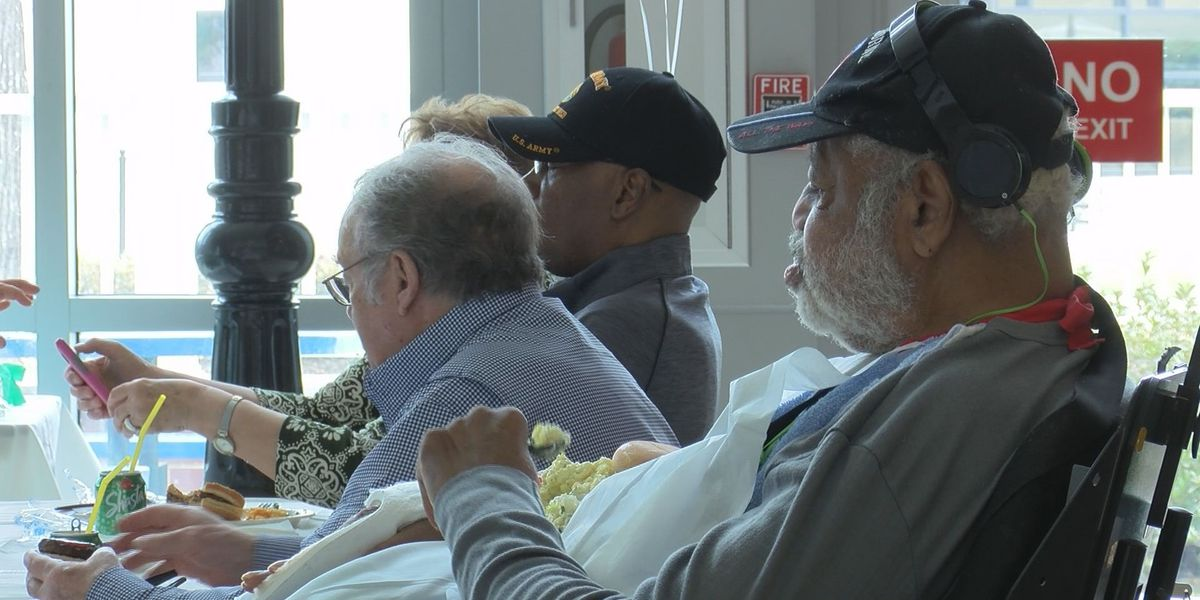 WIS holds cookout for veterans