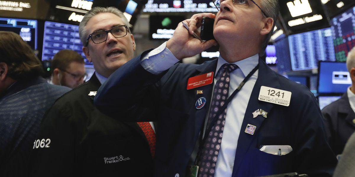 Health care, energy companies power US stock market higher