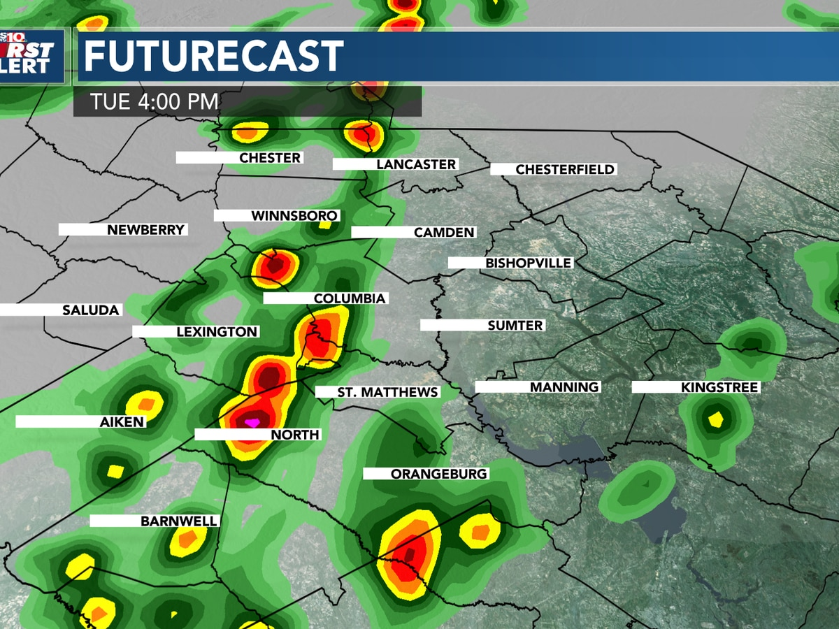 FIRST ALERT: Today is an Alert Day for strong storms, then cooler weather moves in