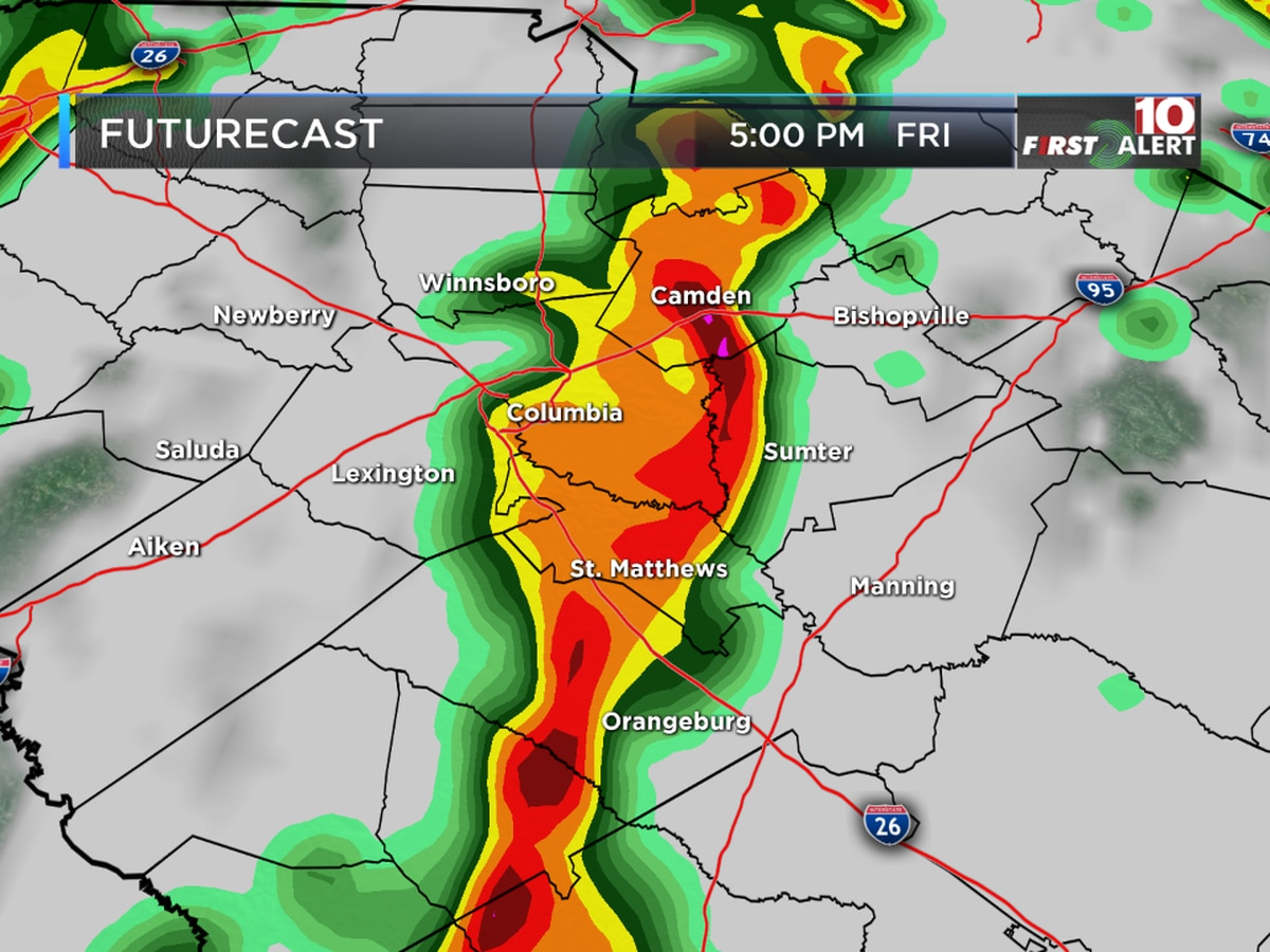 FIRST ALERT: Heads up! Storms could be strong to severe on Friday!