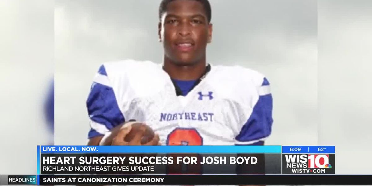 Heart surgery a success for Josh Boyd