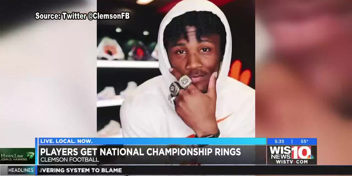 Clemson football receives 2019 National Championship rings
