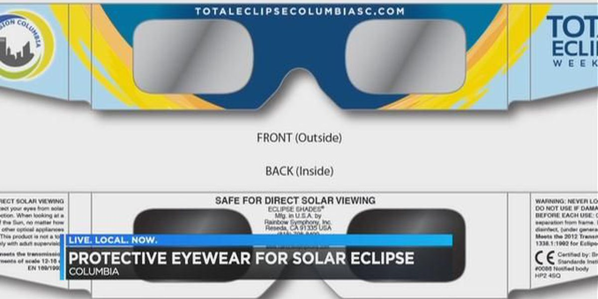Protective eyewear is key for safely enjoying the total solar eclipse