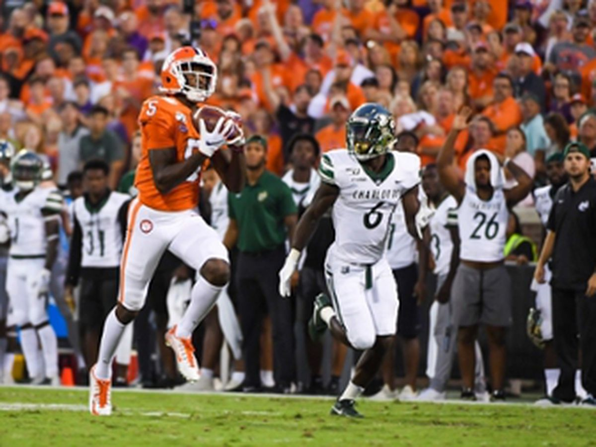 Top-ranked Clemson blows out Charlotte for Swinney's 120th win