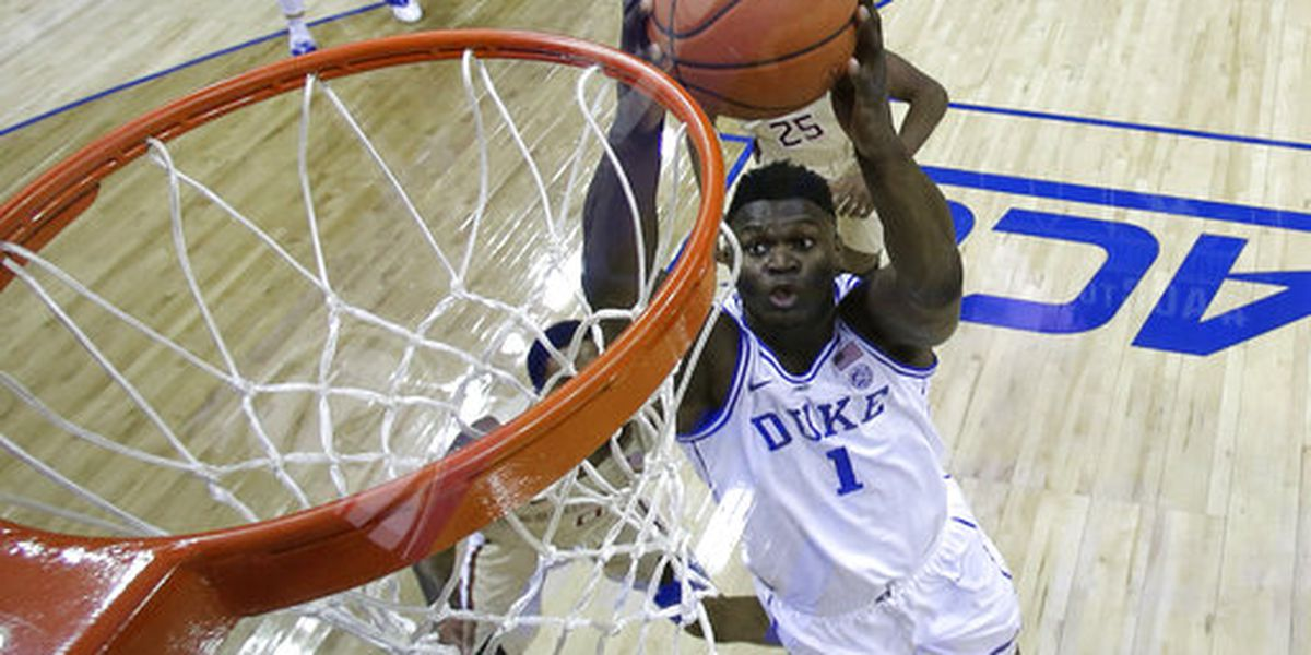 Zion Williamson gives assist in baby gender reveal