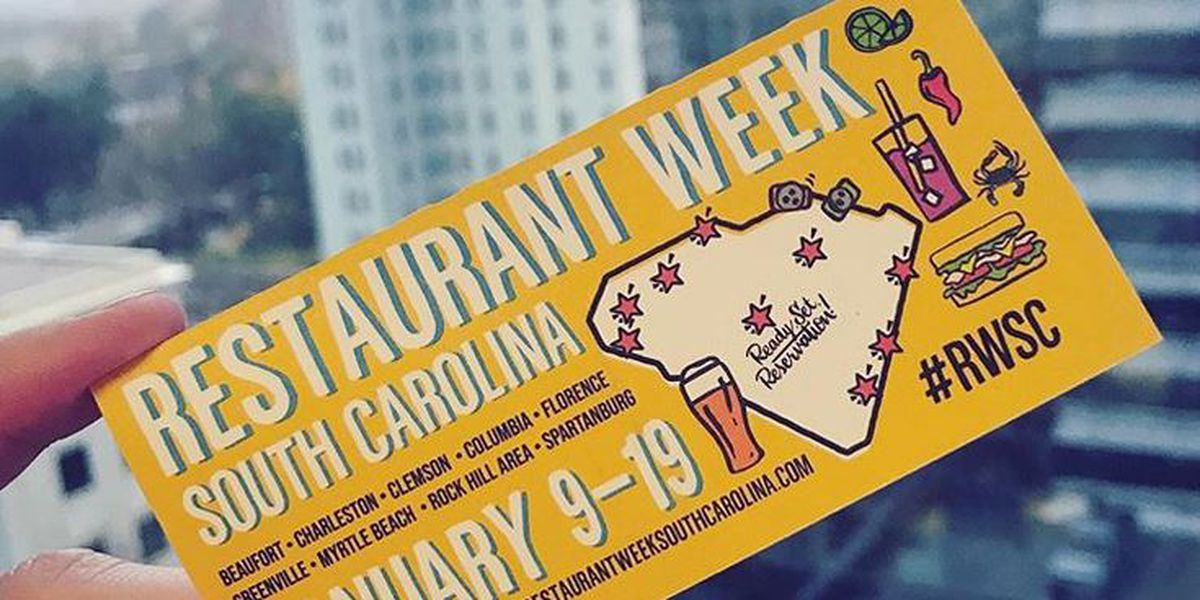 Restaurant Week South Carolina kicks off Thursday