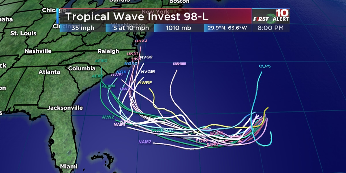 Florence regroups as Tropical Storm Kirk; slim chance for Carolina repeat