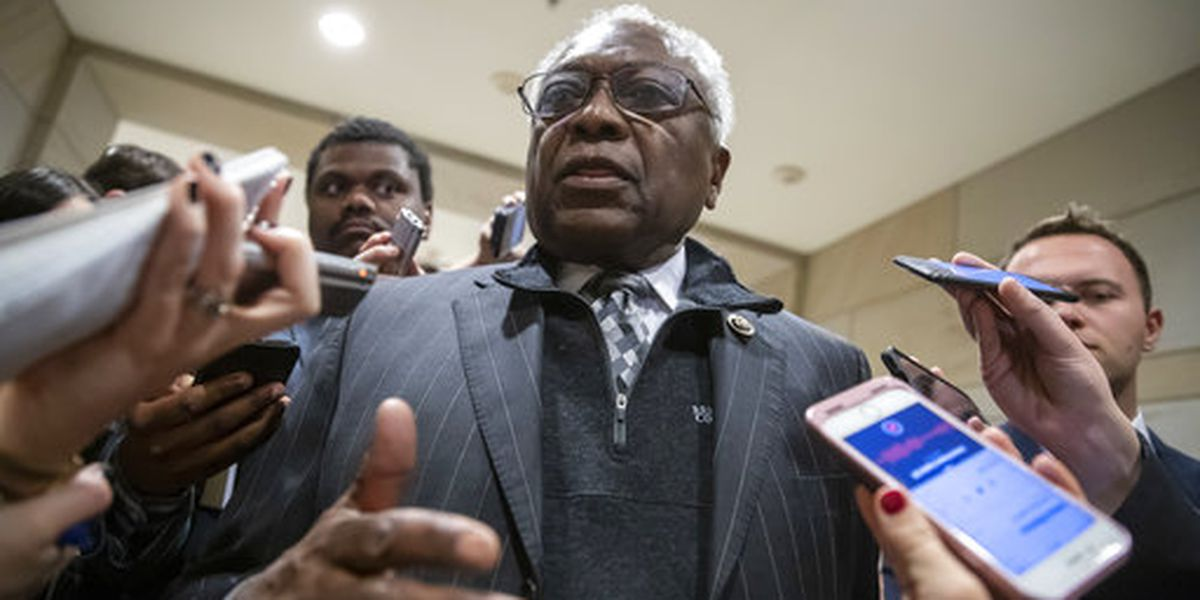 Majority Whip James Clyburn says Americans are 'hostages' over president's demands for border wall