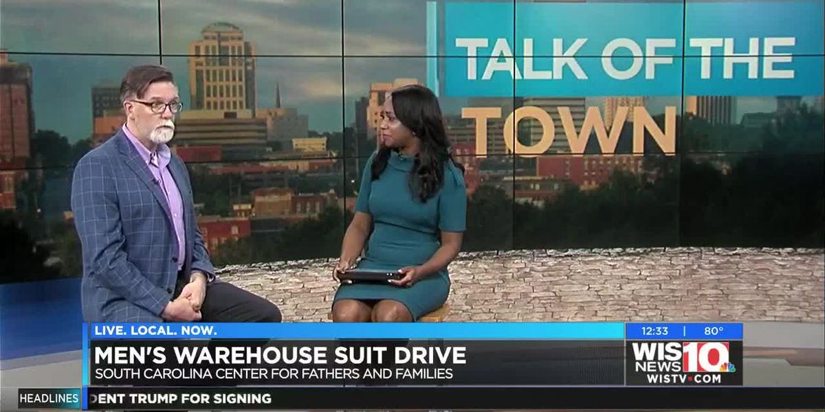 Talk of the Town: Men's Wearhouse holds suit drive