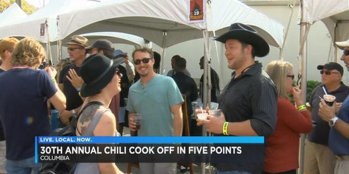 Residents pack Five Points for 30th annual Chili Cook-Off