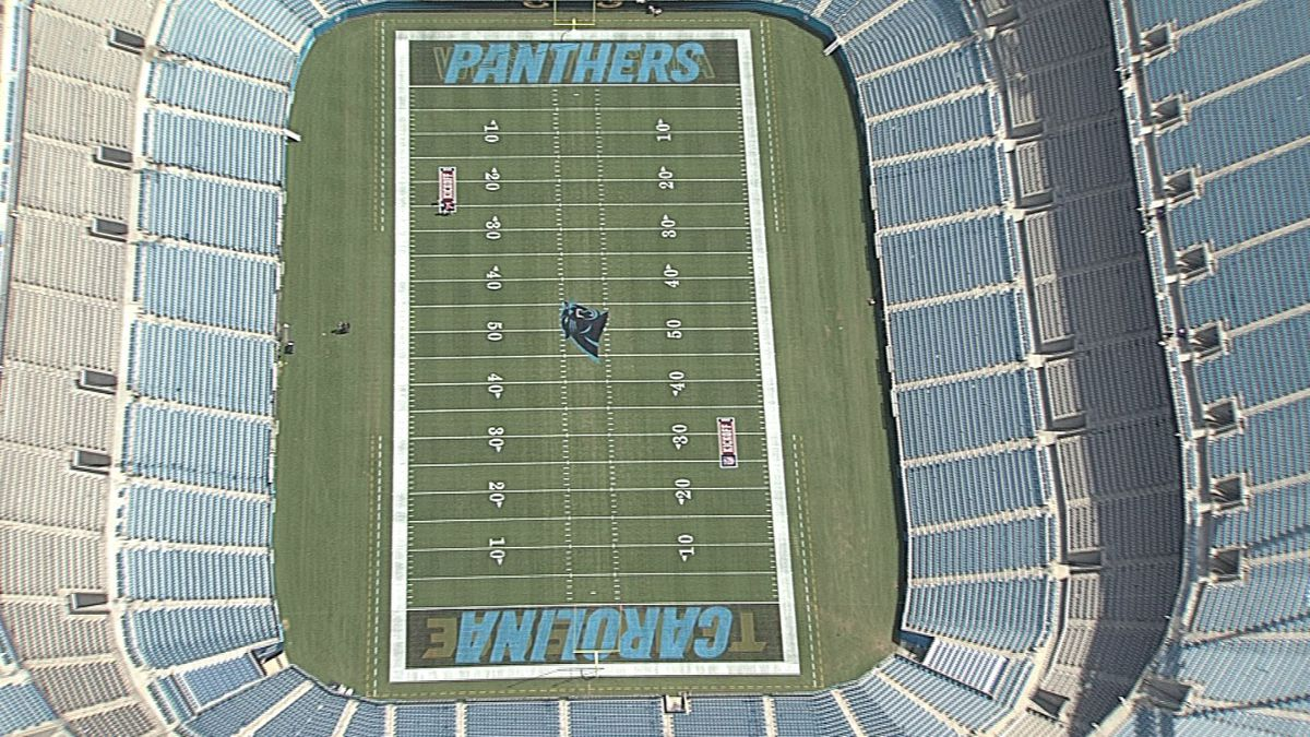 No fans allowed at Carolina Panthers first home game of 2020