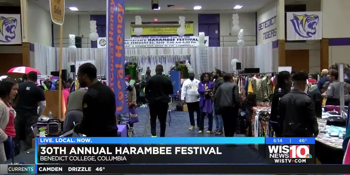 Despite weather, 30th Annual Harambee Festival draws crowds at Benedict College