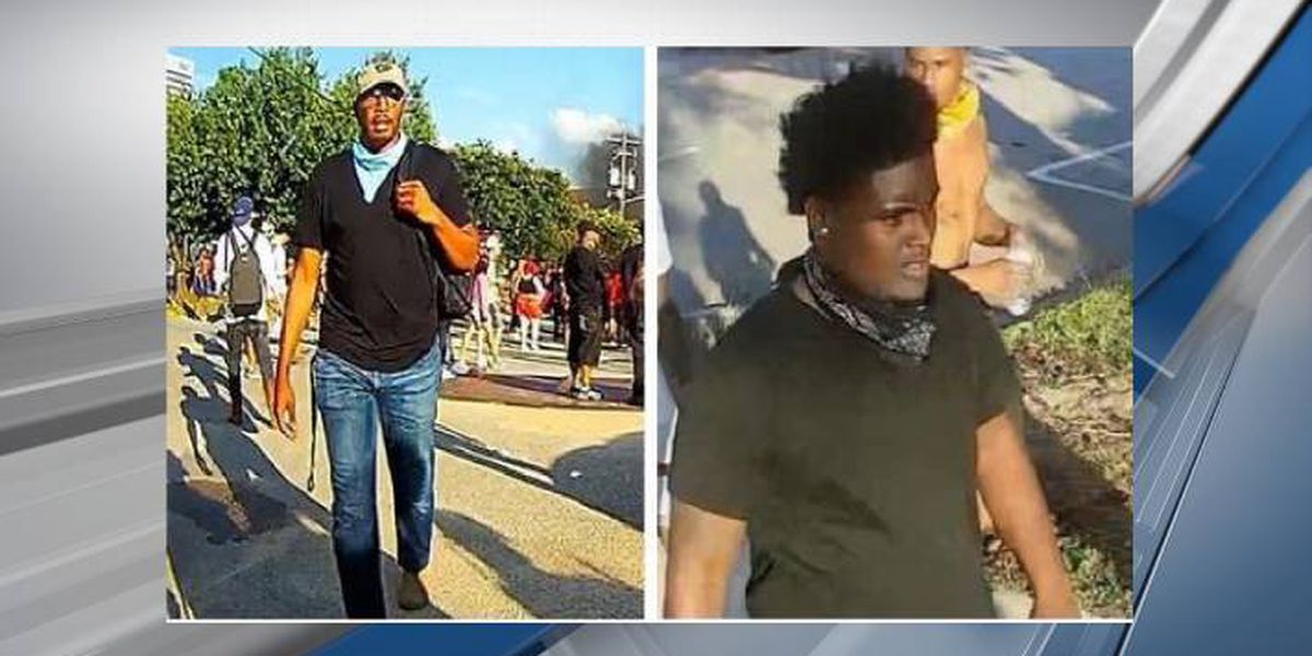 RCSD searching for 2 men in connection with 2 separate incidents stemming from May 30 riot
