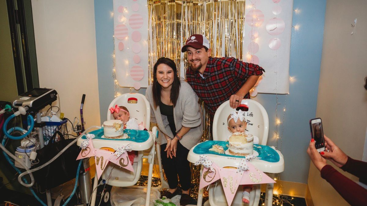As infant mortality rises in SC, miracle twins celebrate first birthday after surviving delivery at 25 weeks