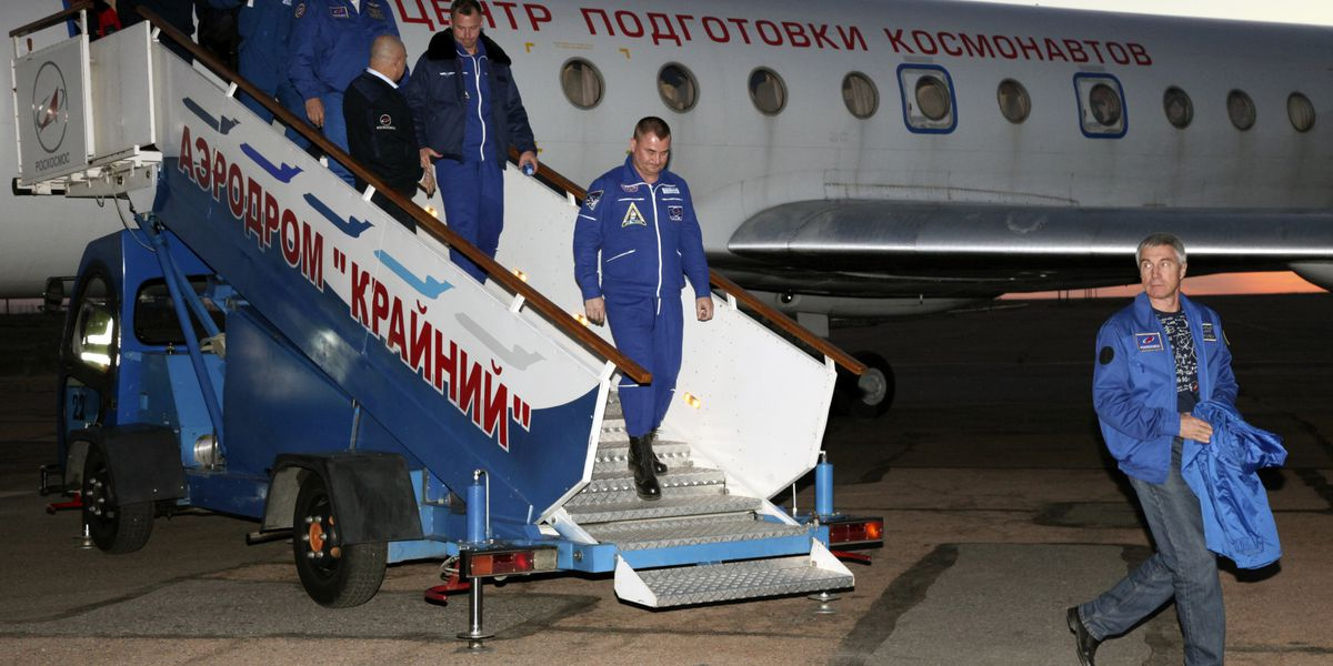 US, Russian astronauts land safely after rocket failure