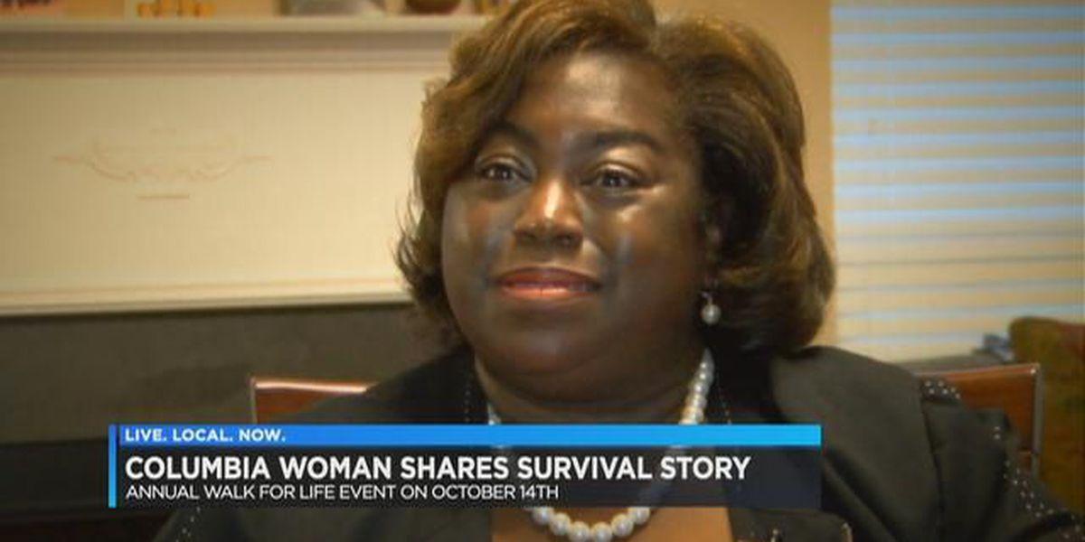 """It took my breath away,"" cancer survivor describes diagnosis, recovery"