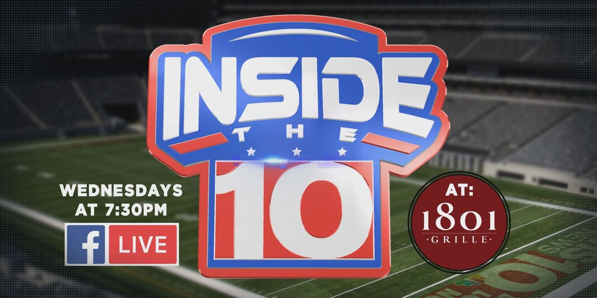 WATCH LIVE: Join us for our last episode of Inside the 10 with Todd Ellis and Perry Orth