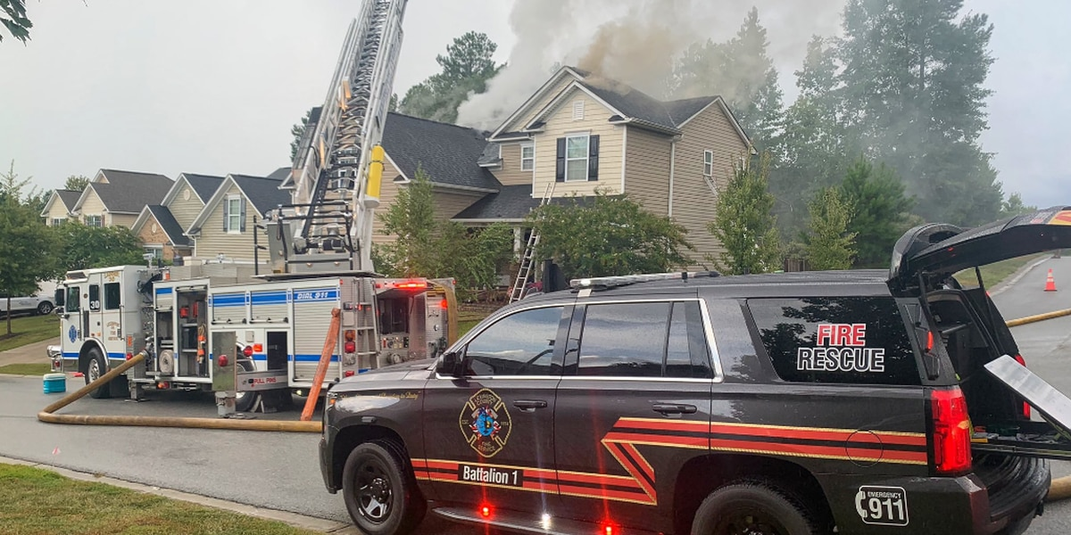 Lexington Fire investigating structure fire on Allenbrooke Drive