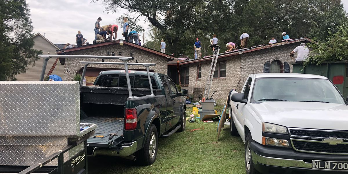 A West Columbia home damaged in 2015 flooding gets new roof thanks to nonprofit group