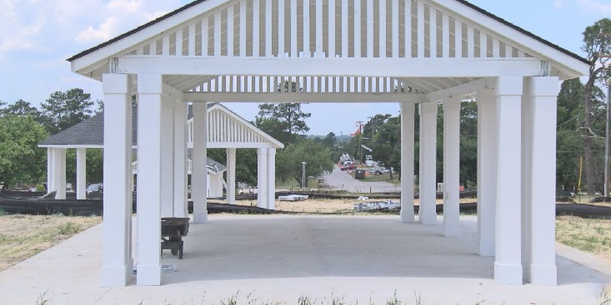 Newly built pavilions to be revealed Tuesday at Centennial Park on Fort Jackson