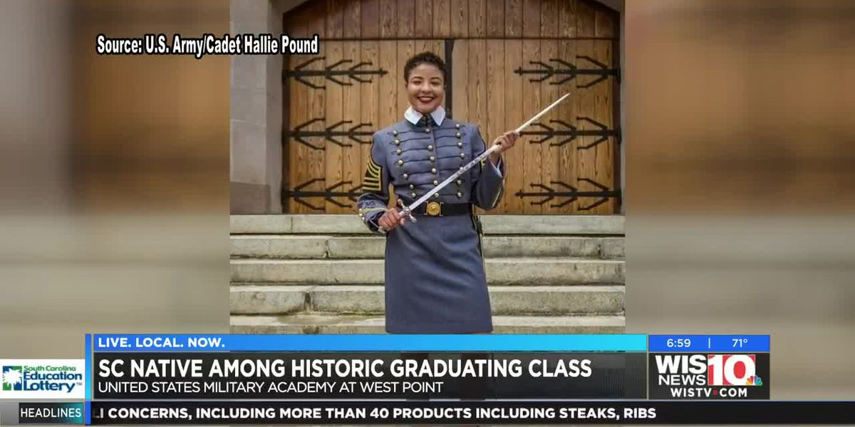 SC native 1 of 34 making history in Military Academy at West Point's class of 2019