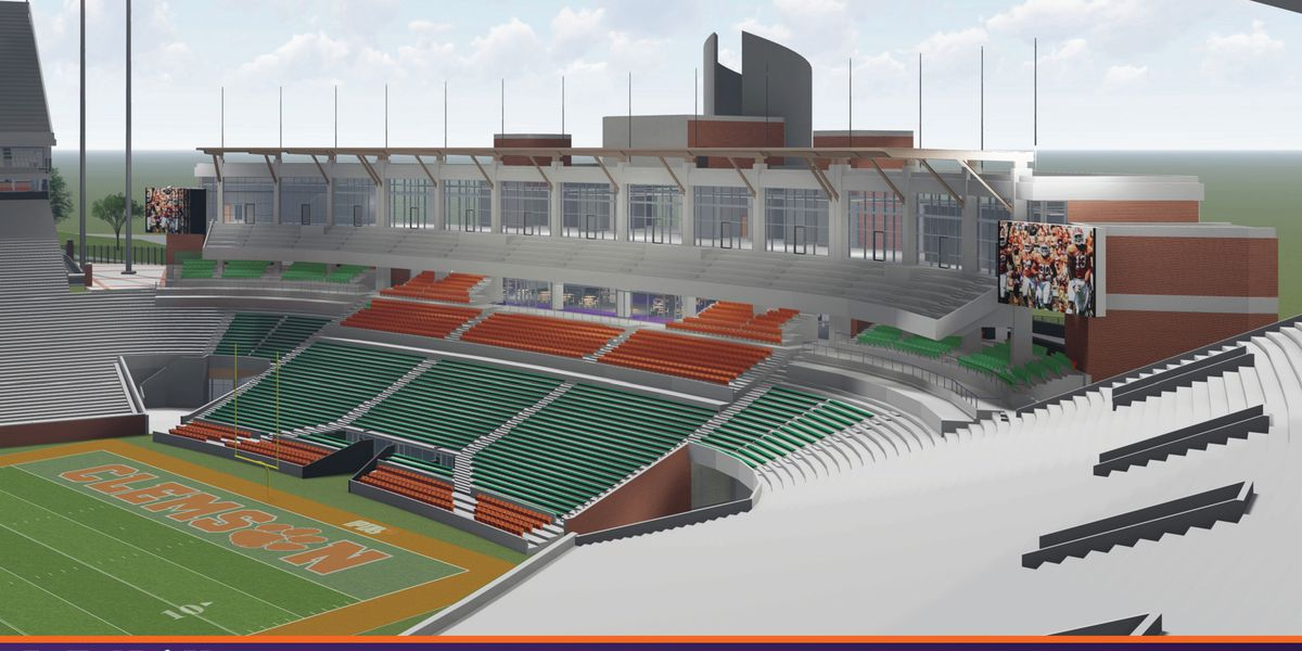 Potential upgrades coming to Clemson's Memorial Stadium, pending board approval