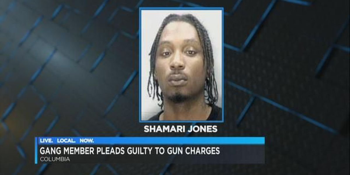 Columbia gang member pleads guilty to federal gun charge